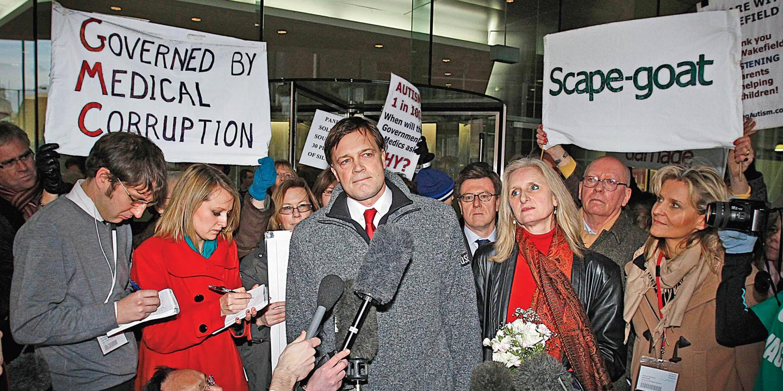 Эндрю Уэйкфилд - ярый противник вакцинации. Фото: newsweek.com