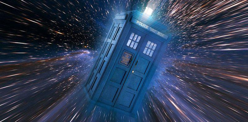 """TARDIS - машина времени из сериала """"Доктор Кто""""."""