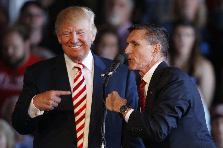 Трампу грозит импичмент из-за дела Флинна. Фото: nymag.com