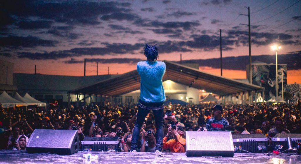Все выходные будет греметь фестиваль хип-хоп музыки Rolling Loud. Фото facebook.com/RollingLoudFest