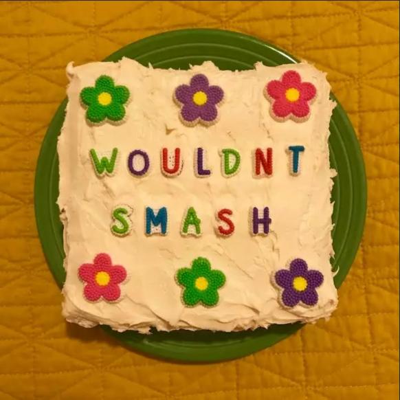 Надпись на торте: «Не вдул бы». Фото kat_thek.