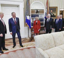 Трамп раскрыл сверхсекретную информацию на встрече с Лавровым