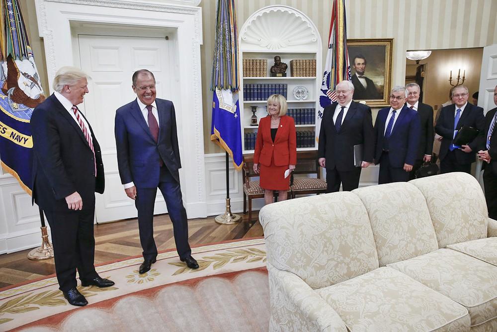 Трамп раскрыл Лаврову данные о борьбе с Исламским государством. Фото: tvc.ru