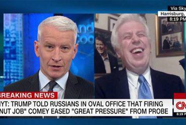 Ведущий CNN грубо ответил аналитику, защищающему Трампа (ВИДЕО)