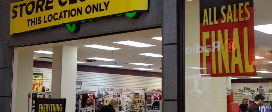 Ожидается, что в 2017 году закроется самое большое количество магазинов. Фото: statesville.com