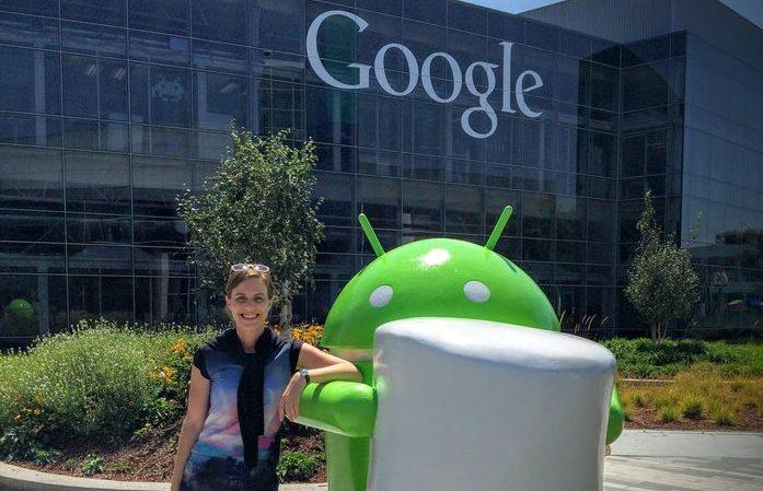 Кира Ковалева легко переехала в США благодаря Google. Фото: mmr.ua