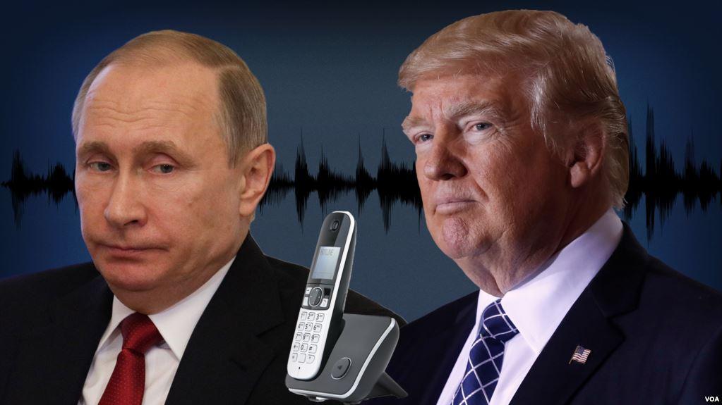 Дональд Трамп и Владимир Путин согласились сотрудничать по вопросам Сирии. Фото: golos-ameriki.ru
