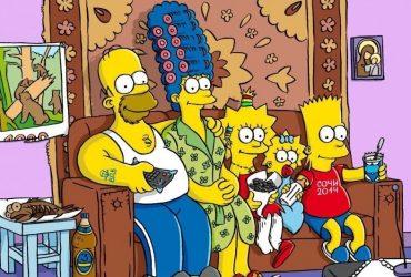 Как видят Россию герои «Симпсонов»
