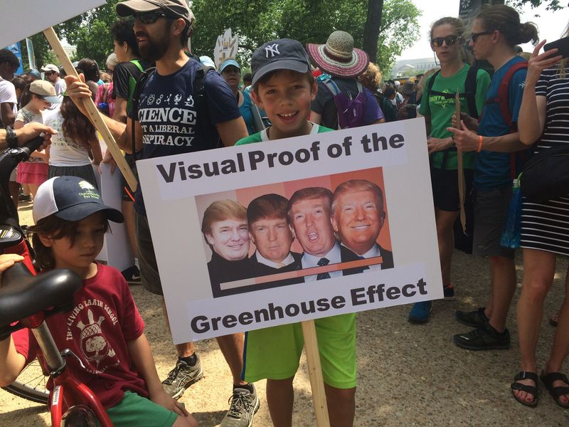 """""""Наглядное доказательство глобального потепления"""". Фото: vox.com"""