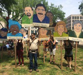 Топ-9 плакатов из климатического марша
