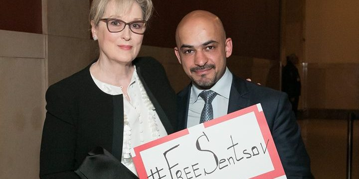 Мэрил Стрип и украинский журналист Мустафа Найем поддержали петицию. Фото: kyivpost.com