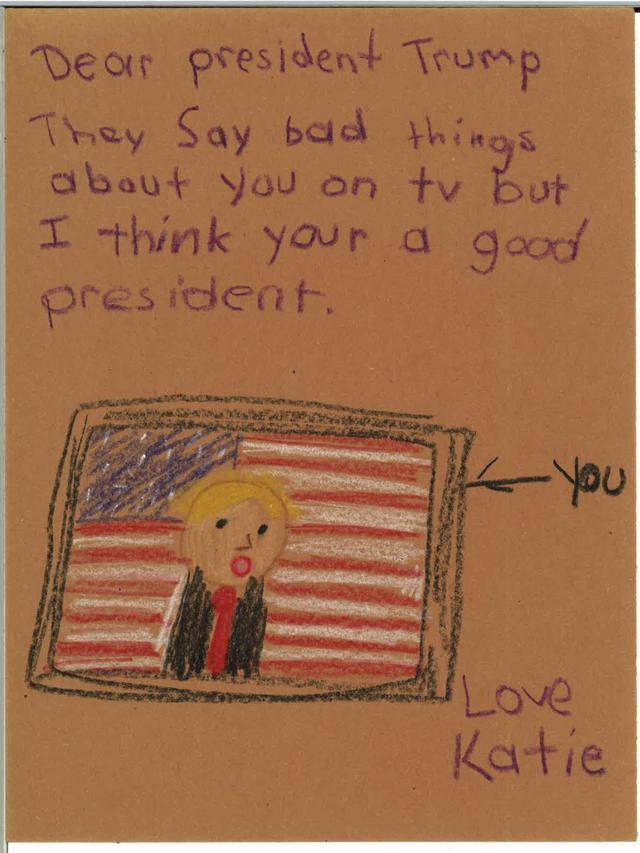 Письмо ребенка Дональду Трампу. Фото: theonion.com
