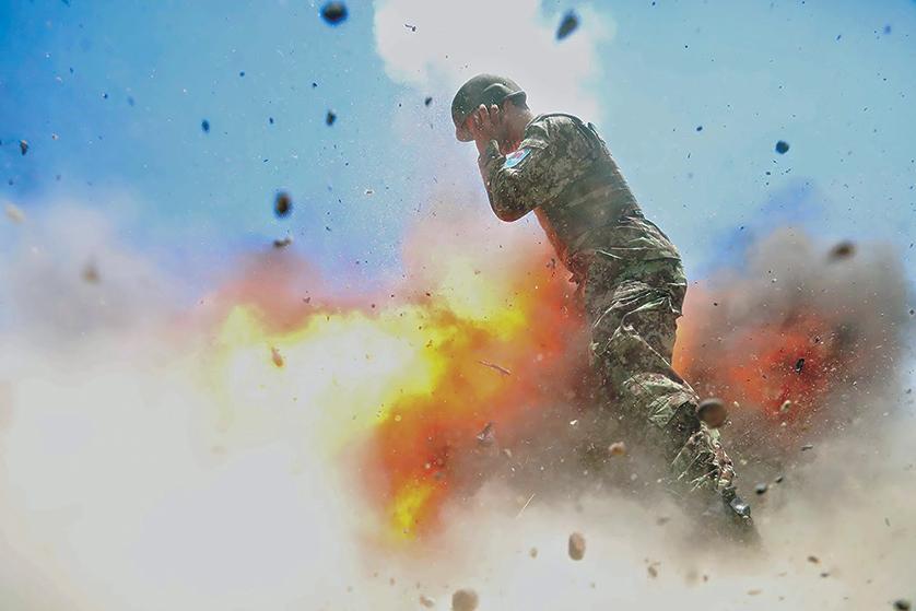 Последний снимок фотографа Хильды Клейтон. Фото armyupress.army.mil