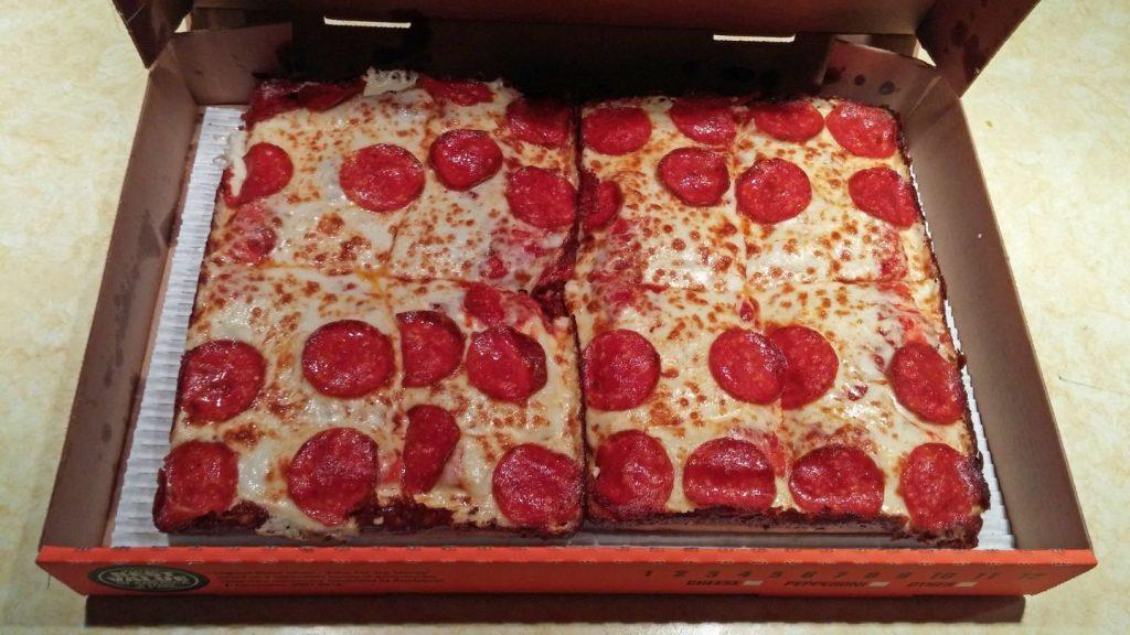 Мусульманин дважды покупал пиццу в Little Caesars, думая, что в составе нет свинины. Фото wordpress.com