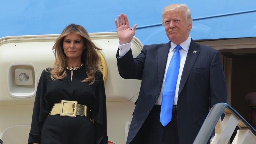 Первое зарубежное турне Дональд Трамп начал с Саудовской Аравии. Фото ytimg.com