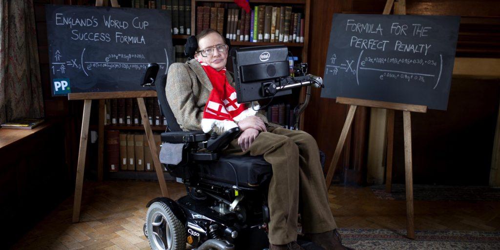 Стивен Хокинг. Фото neinvalid.ru