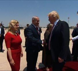 Трамп попробует примирить Израиль и Палестину во время визита в Тель-Авив