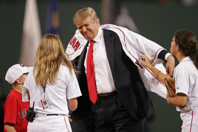 Дональд Трамп не в восторге от занятий спортом. Фото: complex.com