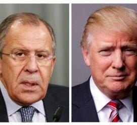 О чем договорились Лавров и Трамп на незапланированной встрече в Вашингтоне