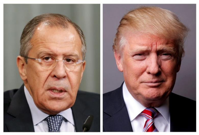 Лавров встретился с Трампом в Вашингтоне. Фото: reuters.com