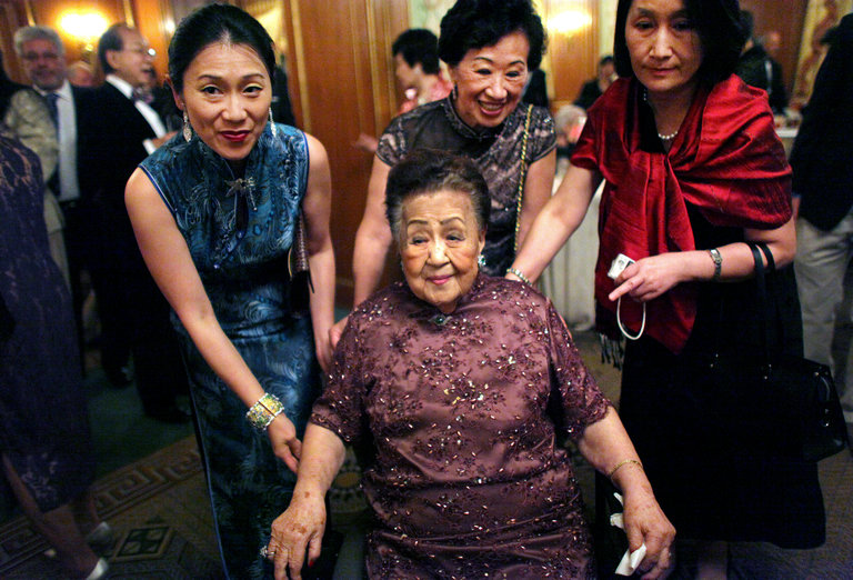 Джулиана Янг Ку с родственниками. Фото: nytimes.com