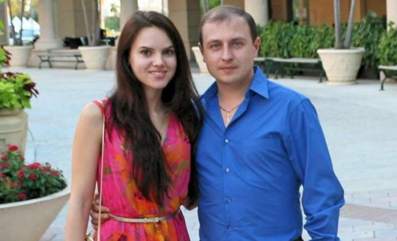 Евгений Ковтуненко с женой. Фото: facebook.com/evgeny.kovtunenko