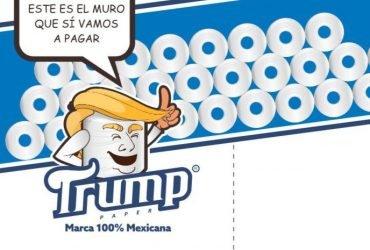 В Мексике начнут выпускать туалетную бумагу с изображением Трампа