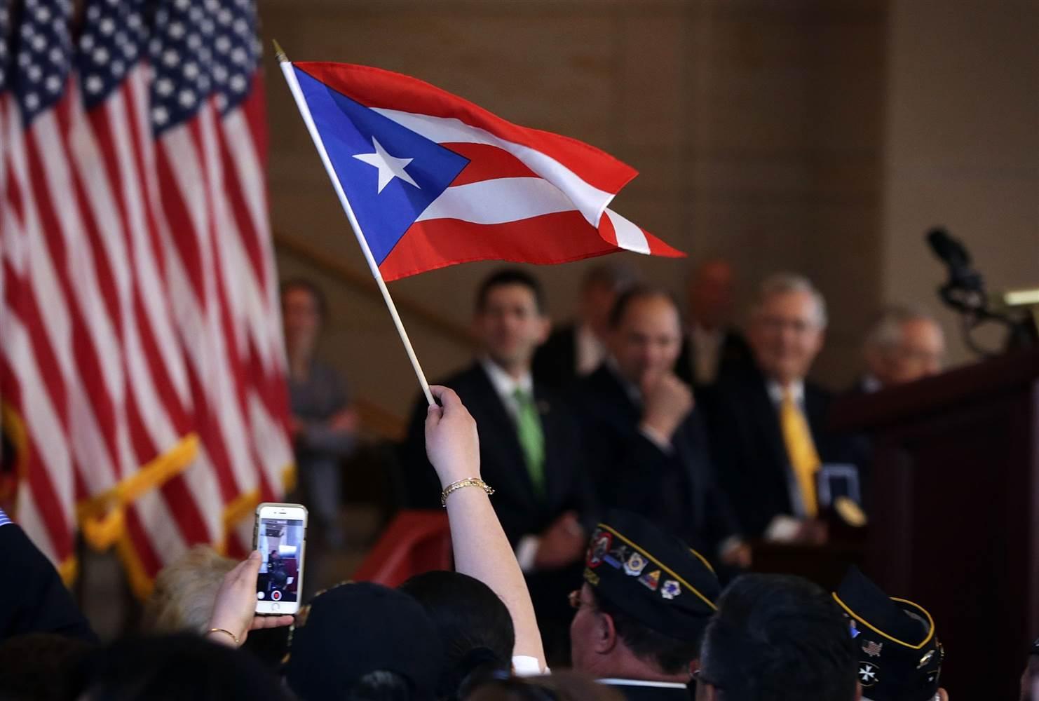 В Пуэрто-Рико очень хотят стать частью США. Фото: nbcnews.com