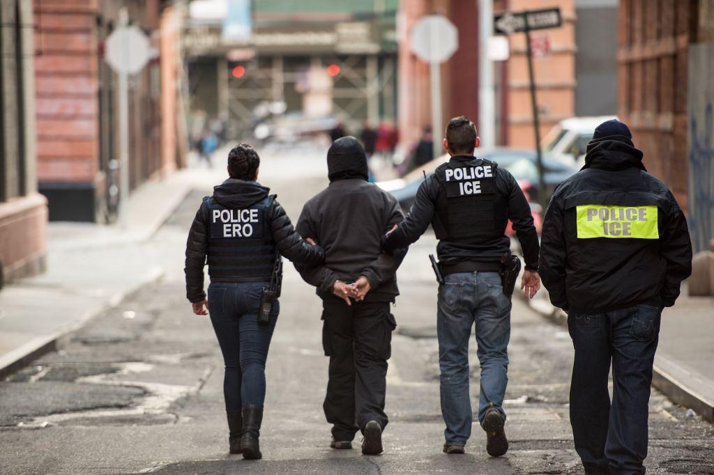 Иммиграционные агенты действуют на улице крайне быстро. Фото: ice.gov