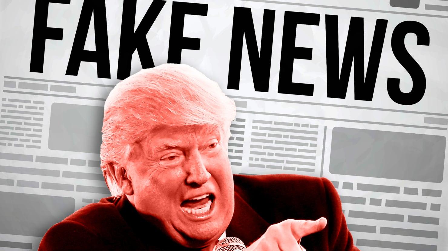 Трамп обрадовался провалу CNN. Фото: thedailybeast.com