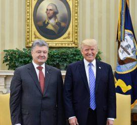 ВИДЕО: Порошенко считает Трампа соавтором истории украинского успеха