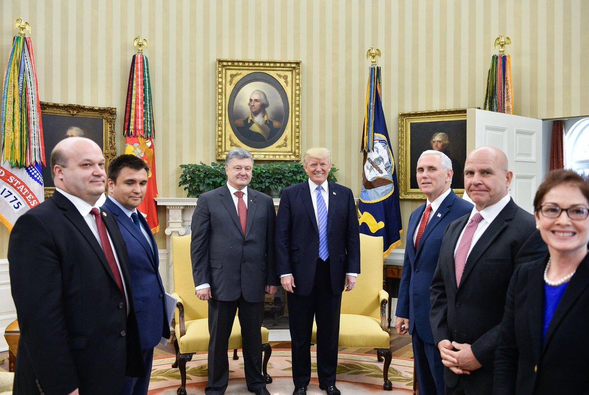 Встреча Дональда Трампа и Петра Порошенко. Фото: 112.international
