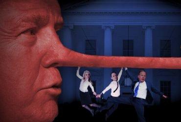 The New York Times собрал всю ложь Трампа на одном развороте