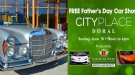 Автомобильное шоу в День отца