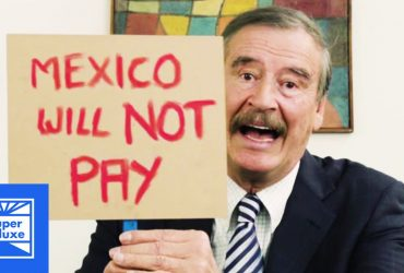Как экс-президент Мексики пошутил над Трампом (видео)