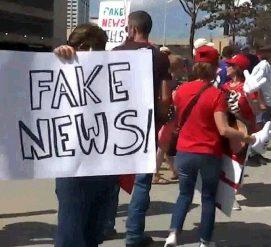В Атланте прошла акция протеста против информационной политики CNN