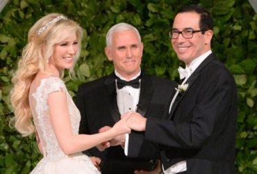 ФОТО: Самая элитная свадьба года — как женился глава Департамента финансов США