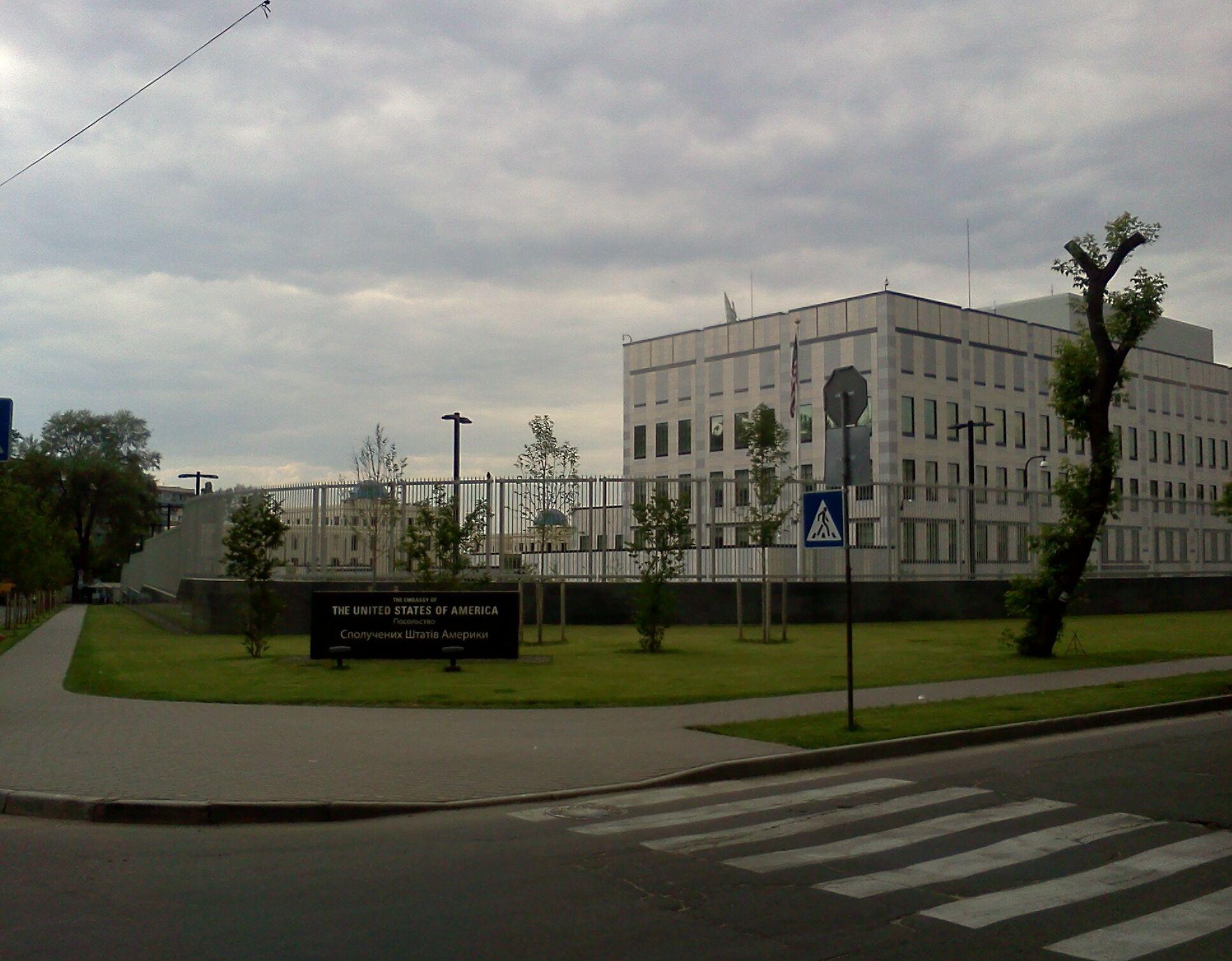 Американское посольство в Киеве. Фото: wikiwand.com