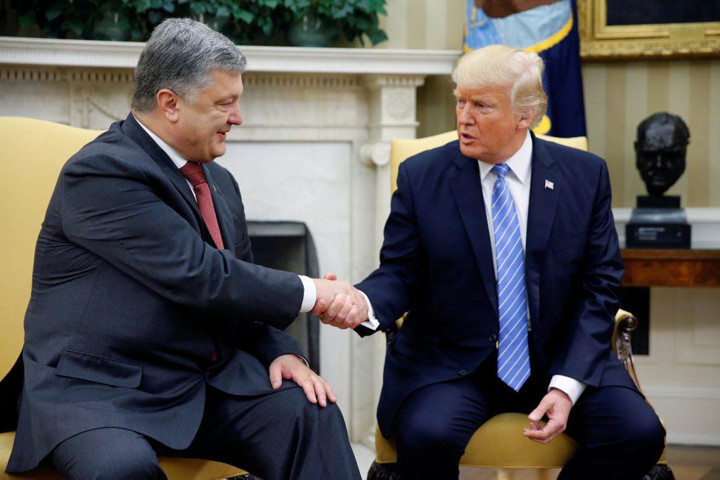 Трамп и Порошенко провели продуктивную встречу. Фото: pbs.org