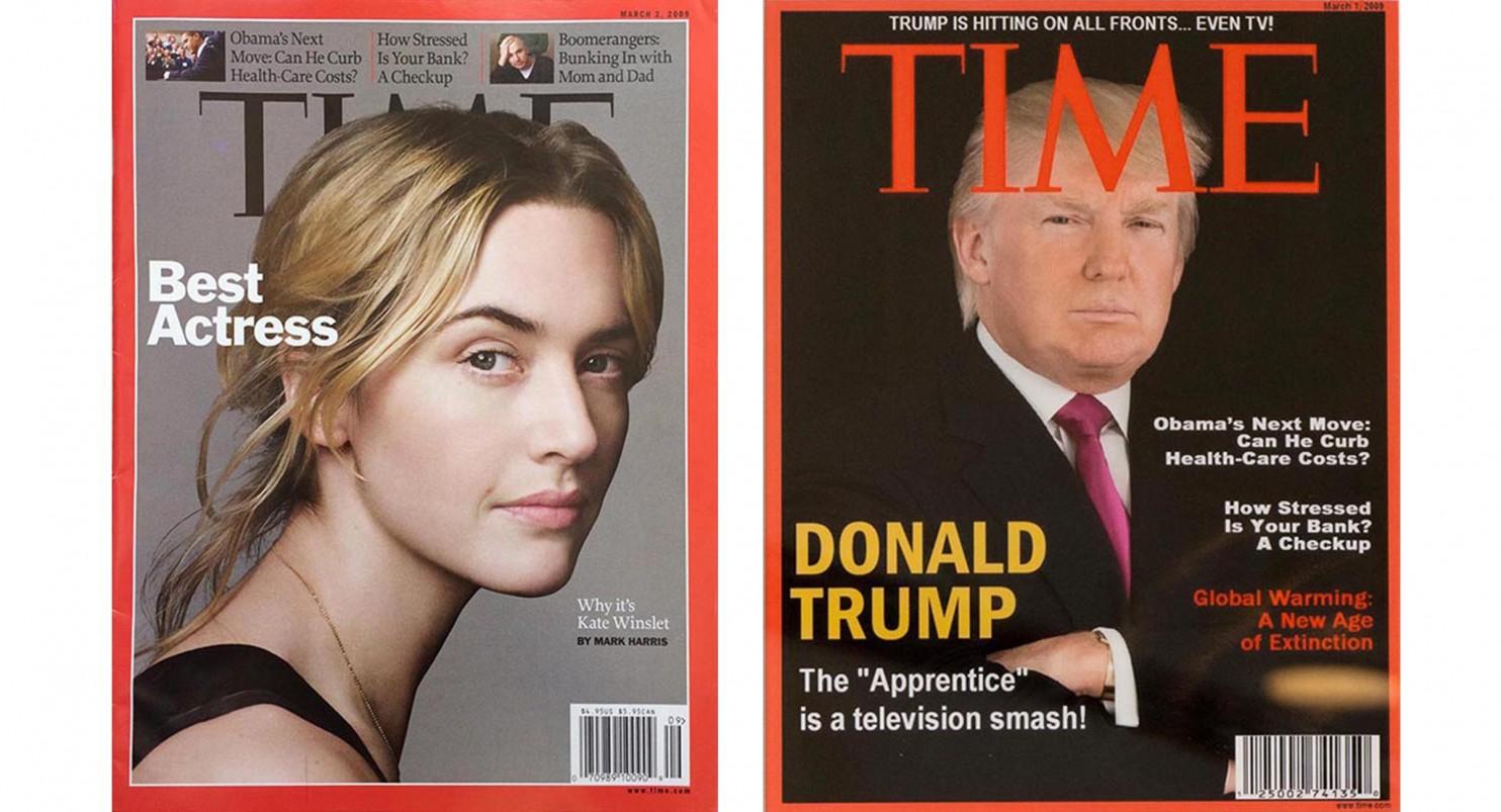 Оформление обложки существенно отличается от стандартов Time. Фото: washingtonpost.com