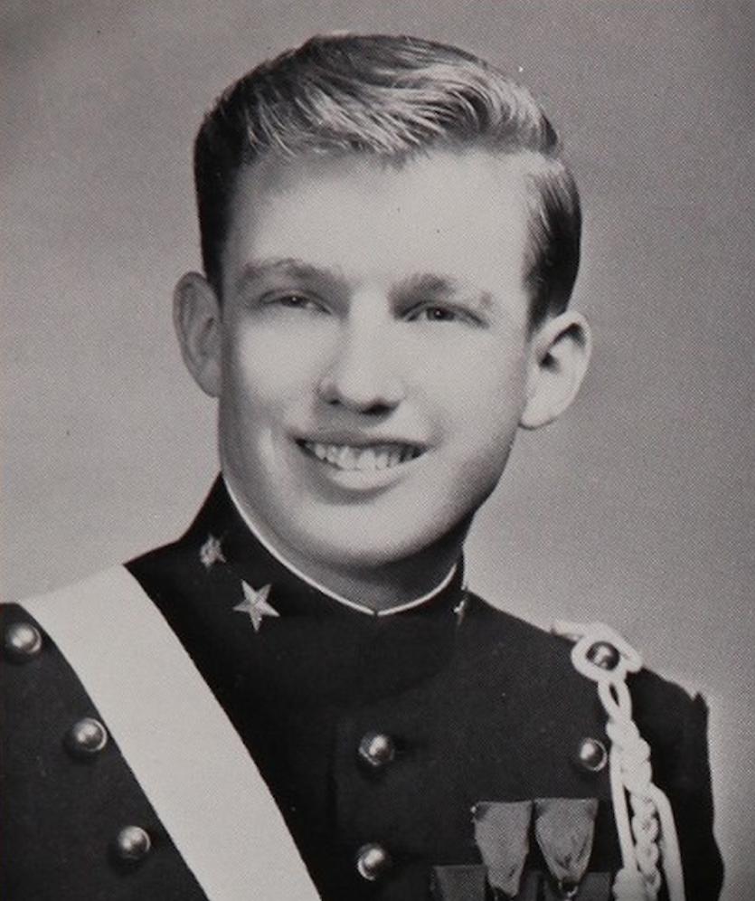 Трамп в военной академии, 1964 год. Фото: businessinsider.com