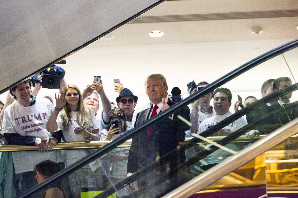 Трамп начинает свою президентскую кампанию. Фото: businessinsider.com