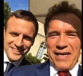 Шварценеггер и Макрон объединились против Трампа