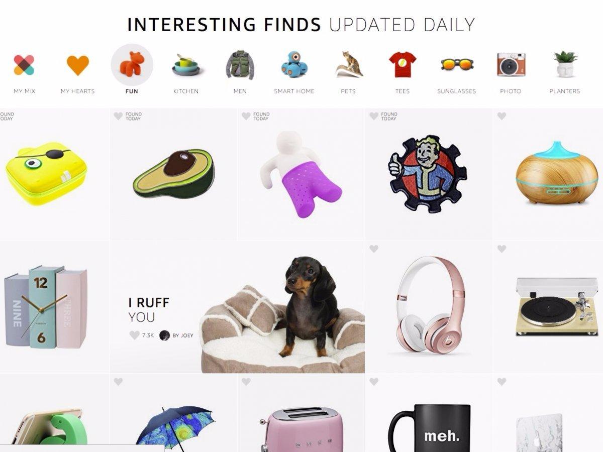 Раздел Interesting Finds. Фото: businessinsider.com