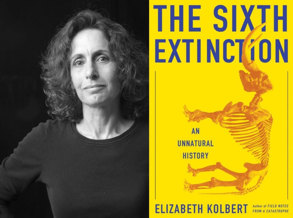 Элизабет Колберт и ее книга. Фото: sfgate.com