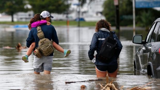 В некоторых городах ожидается около 1 метра осадков. Фото: abcnews.go.com
