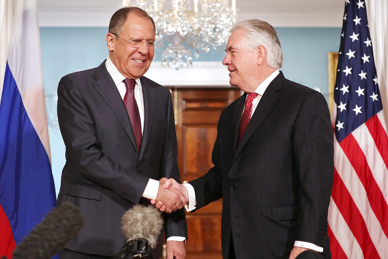 Сергей Лавров и Рекс Тиллерсон. Фото: usnews.com