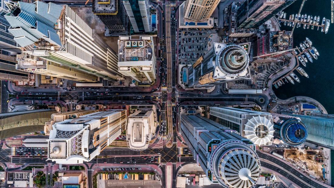 Дубай с высоты птичьего полета. Фото: cnn.com