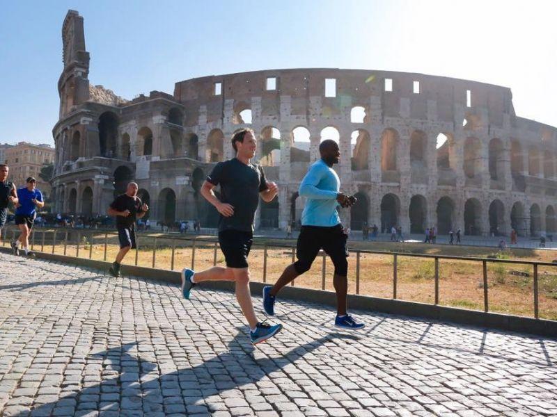 Пробежка в Риме. Фото ain.ua