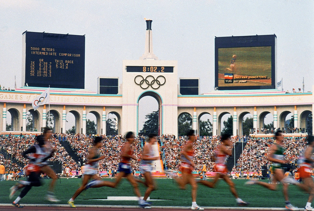 Олимпиада-2024 может проходить в Лос-Анджелесе. Фото: nytimes.com
